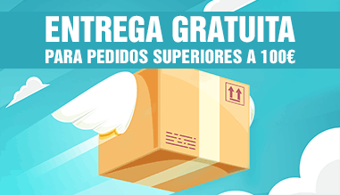 Entrega Gratuita para pedidos superiores a 100€